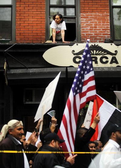 Фоторепортаж с акции  в поддержку йеменцев в Нью-Йорке. Фото: Mario Tama/Getty Images