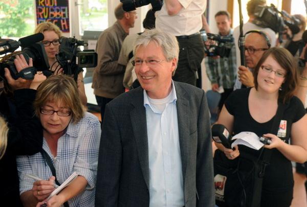 Фоторепортаж о региональных выборах в Германии. Фото: AFP PHOTO/KAY NIETFELD  GERMANY OUT