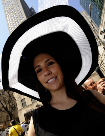 Пасхальный парад на главной улице города Манхэттен Пятой Авеню. Фото: Michael Nagle/Getty Images