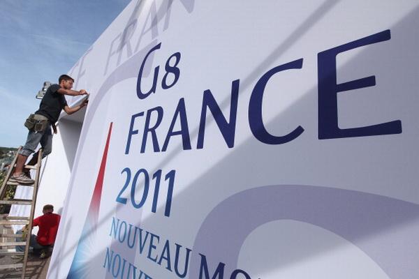 Фоторепортаж о предстоящем саммите G8 в Довиле. Фото: Sean Gallup/Getty Images