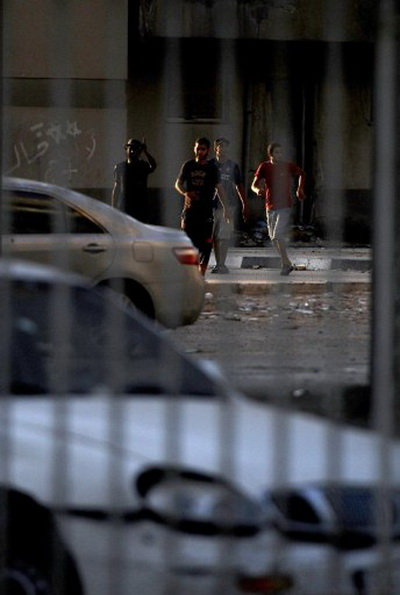 США разморозят ливийские активы. Фоторепортаж об обстановке в Ливии. Фото: AFP PHOTO/IMED LAMLOUM