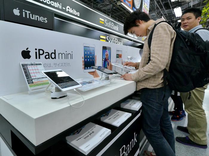 Apple намеревается сотрудничать с Pegatron. Фото: YOSHIKAZU TSUNO/AFP/Getty Images