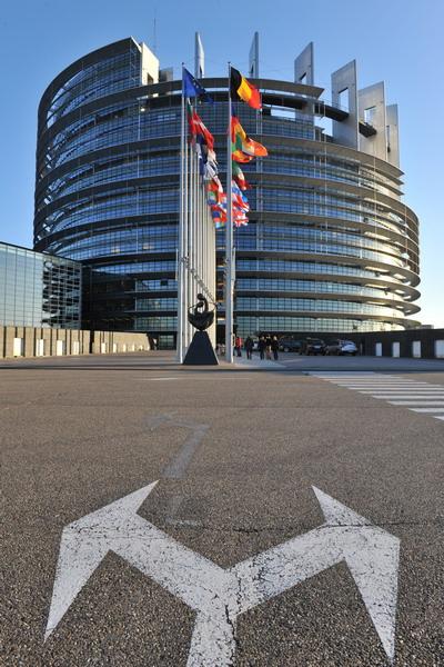 Страны Евросоюза достигли соглашения. Здание Европарламента в Страсбурге. Фото: GEORGES GOBET/AFP/Getty Images