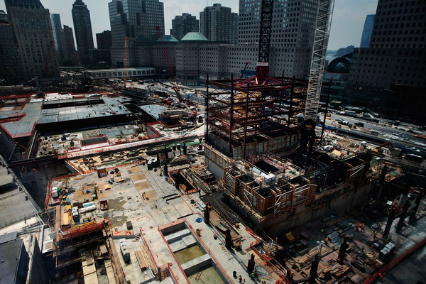 Начало строительства в 2007 году. Фото: Mario Tama/Getty Images