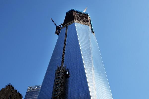Новое здание Всемирного торгового центра (WTO) в Нью-Йорке. Фото: Spencer Platt/Getty Images