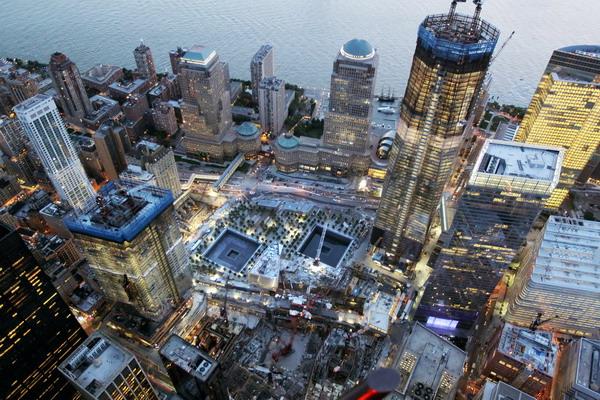 Вид на новое здание с высоты. Фото: Mario Tama/Getty Images