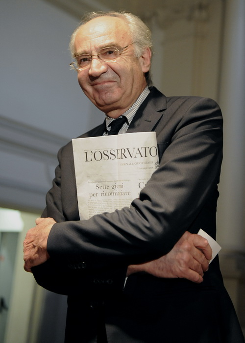 Уволен глава банка Ватикана Этторе Готти Тедески. Фото: TIZIANA FABI/AFP/GettyImages