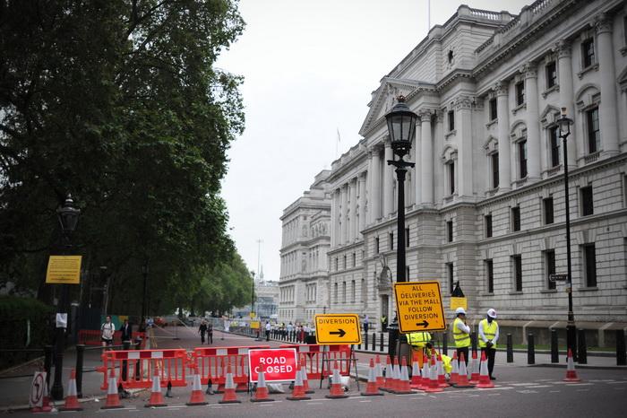 Лондон готовится к Олимпиаде-2012. Безопасность в городе обеспечена. Фото:  CARL COURT/AFP/GettyImages