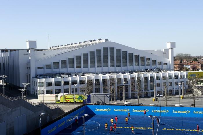 Лондон готовится к Олимпиаде-2012. Стадион Уэмбли. Фото: MIGUEL MEDINA/AFP/GettyImages
