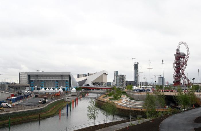 Лондон готовится к Олимпиаде-2012. Вид на Олимпийский парк. Фото:  Julian Finney/Getty Images