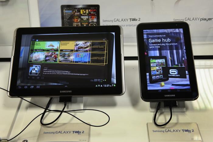 Продажа планшетников в мире резко увеличивается. Фото: Scott Olson/Getty Images