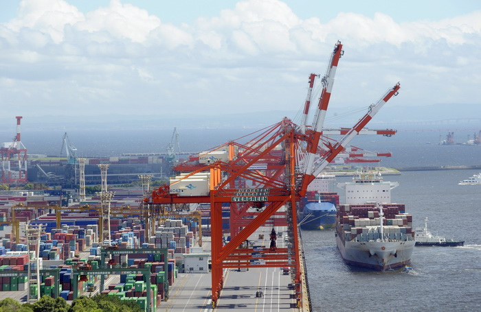 Морские порты Японии. Фото: TOSHIFUMI KITAMURA/AFP/Getty Images