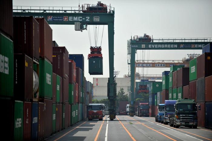 Морские порты Японии. Фото: KAZUHIRO NOGI/AFP/GettyImages