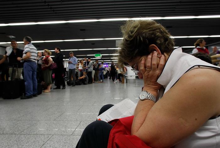 Из-за забастовки стюардов Lufthansa отменены более 200 авиарейсов. Фото:  Ralph Orlowski/Getty Images