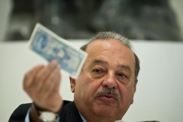 Инвестиции в Мексике. Телемагнат и миллионер Карлос Слим. Фото: Ronaldo Schemidt/AFP/Getty Images