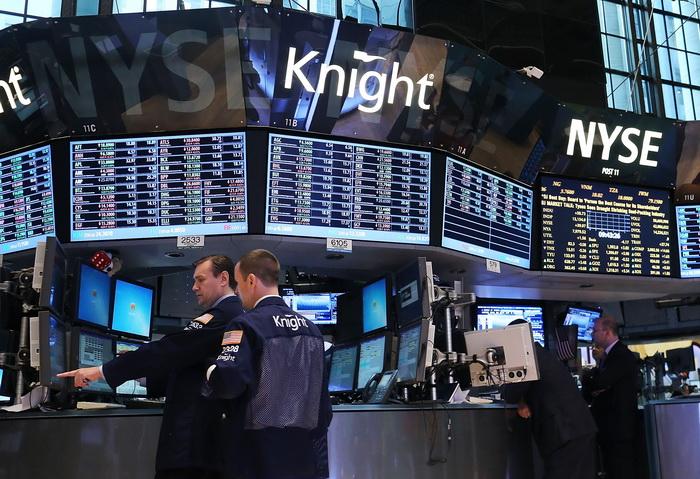 В NYSE шутит компьютер. Фото: Spencer Platt/Getty Images