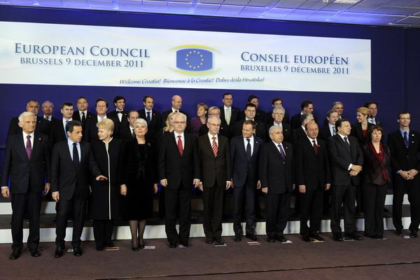 6.Страны ЕС не достигли соглашения по бюджетному контролю. Фото: JOHN THYS/AFP/Getty Images