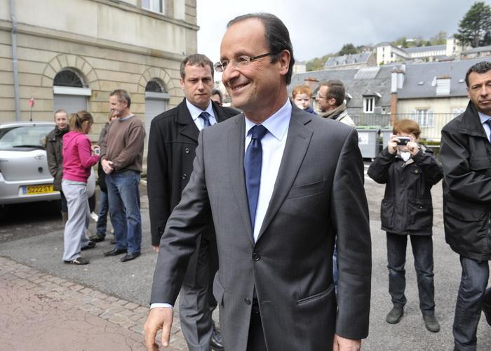 Смена правительства в Греции и во Франции пошатнули рынки. Новый президент Франции Франсуа Олланд. Фото: THIERRY ZOCCOLAN/AFP/Getty Images