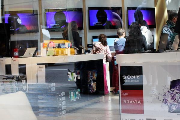 Sony терпит огромные убытки . Фото: Spencer Platt/Getty Images