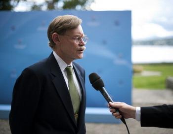 Глава Всемирного банка Роберт Зеллик. Фото: FABRICE COFFRINI/AFP/Getty Images