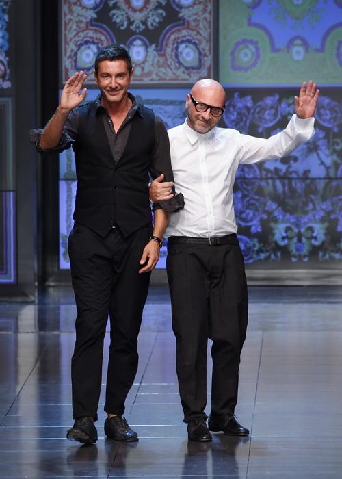 Стефано Габбана (слева) и Доменико Дольче на показе мод в сентябре 2011 года в Милане, Италия. Фото: Vittorio Zunino Celotto/Getty Images