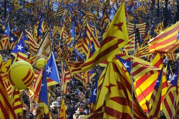 Каталония желает отсоединиться от Испании. Фото: David Ramos/Getty Images