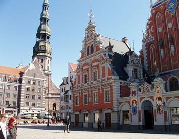 Вид на старый город в Риге, Латвия. Фото: lv.wikipedia.org
