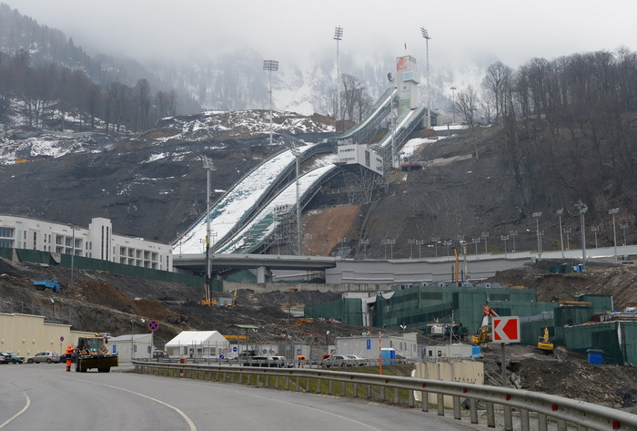 Затраты на олимпиаду в Сочи растут. Фото: Shaun Botterill/Getty Images