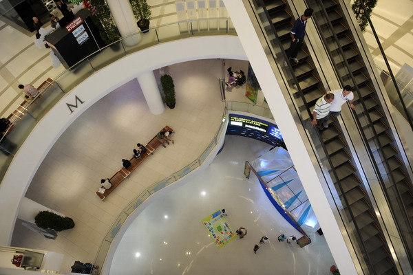 Торговый центр Siam Paragon в Куалалумпуре. Фото: NICOLAS ASFOURI/AFP/Getty Images