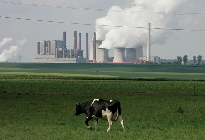 Угольная электростанция в Аахене. Фото: Ralph Orlowski/Getty Images
