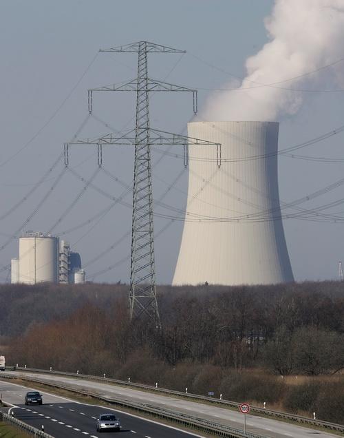 Угольная электростанция в Ростоке. Фото: Sean Gallup/Getty Images
