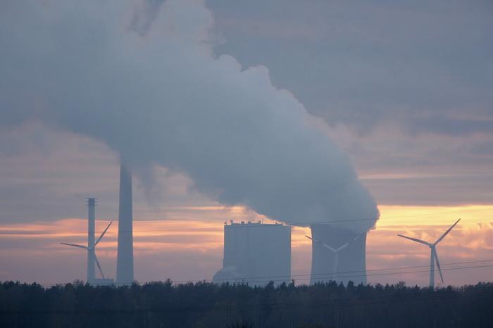 Угольная электростанция в Ганновере. Фото: Sean Gallup/Getty Images