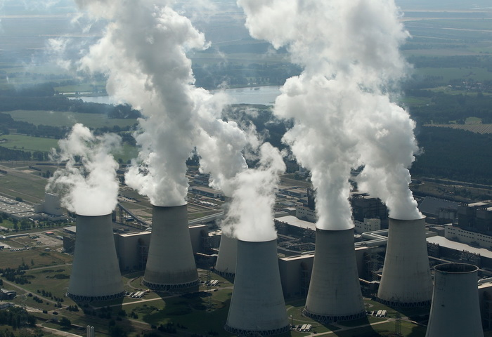 Угольная электростанция в Котбусе. Фото: Sean Gallup/Getty Images