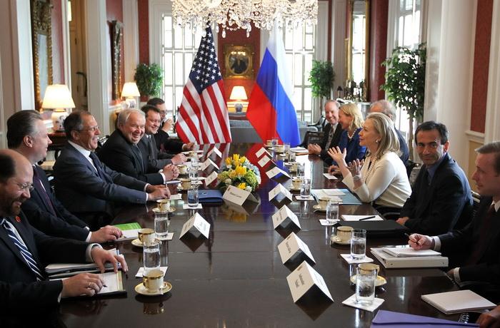 США возобновляет торговые отношения с Россией . Фото: Alex Wong/Getty Images