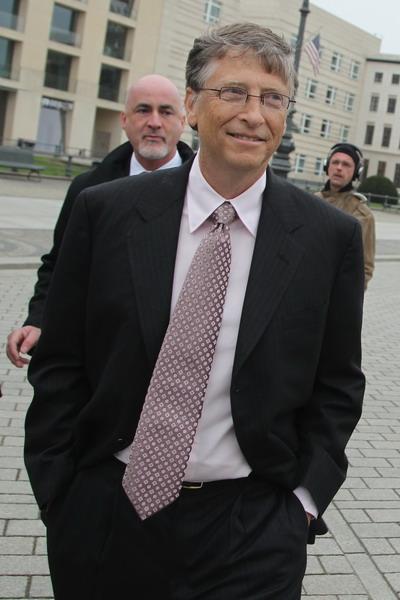 Основатель компании Microsoft Билл Гейтс. Фото:  Gallup/Getty Images