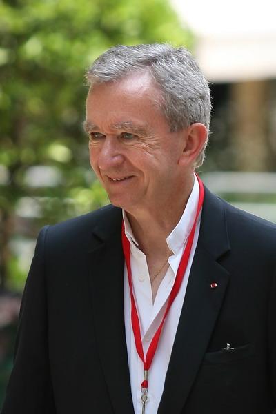 Основатель группы луксус товаров LVMH Бернар Арно. Фото: Marc Piasecki/Getty Images