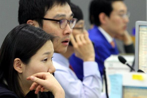 5. Колебания на азиатских фондовых торгах, Фото: KIM JAE-MYUNG/AFP/Getty Images