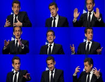За что французы недолюбливают Саркози? Фото:  MARTIN BUREAU/AFP/Getty Images