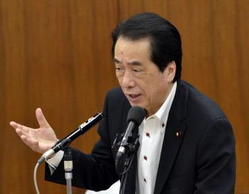 Премьер-министр Японии Наото Кан во вторник объявил о своей отставке. Свой пост он намеревается оставить 29 августа, когда правящая партия выберет нового лидера и начнет реформы.Фото: YOSHIKAZU TSUNO/AFP/Getty Images
