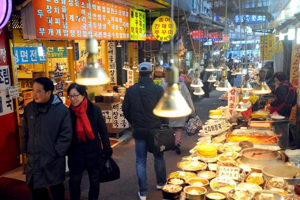 4.В странах Восточной Азии замедляется рост экономики. Южная Корея. Фото:  PARK JI-HWAN/AFP/Getty Images