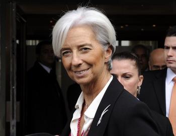 Преимуществa деловых женщин в бизнесе.  Директор Международного Валютного фонда Кристин Лагард. Фото:  FETHI BELAID/AFP/Getty Images