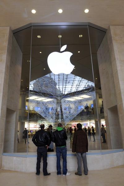 17. Магазин Apple в Париже, Франция. Фото: BERTRAND GUAY/AFP/Getty Images