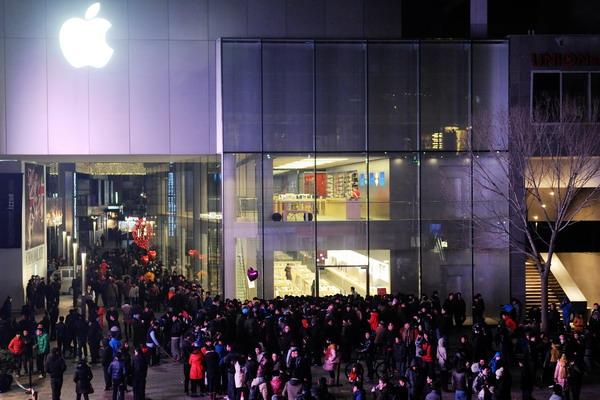 2. Магазин Apple в Пекине, Китай. Фото: ChinaFotoPress/ChinaFotoPress via Getty Images