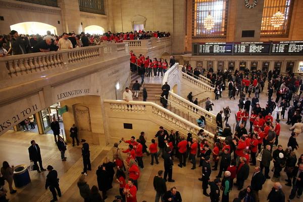 3. Магазин Apple в Центральном вокзале в Нью-Йорке. Фото: Spencer Platt/Getty Images