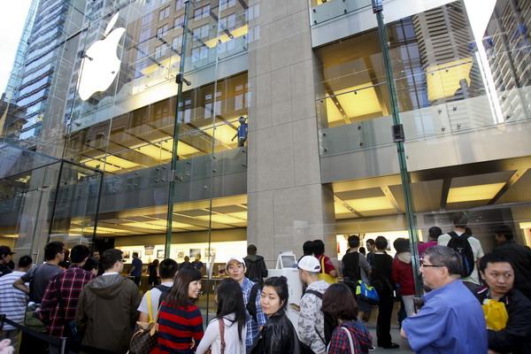 4. Магазин Apple в Сиднее, Австралия. Фото: Mark Gunter/AFP/Getty Images