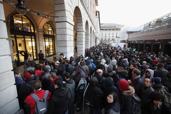 5. Магазин Apple в Ковентгардене в Лондоне, Великобритания. Фото: Oli Scarff/Getty Images