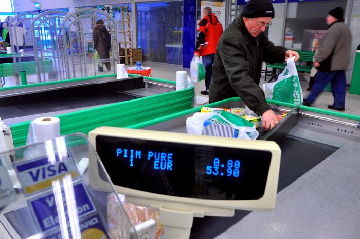 Эстонцы уже не восторге от евро. Фото:  RAIGO PAJULA/AFP/Getty Images