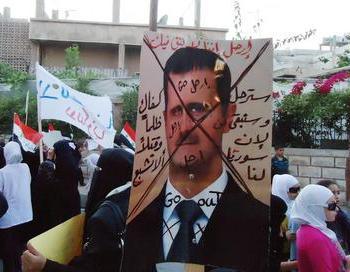 Сирийское правительство позволило основание политических партий. Сирийский народ не верит в большие перемены от этого закона. Фото: handelsblatt.com