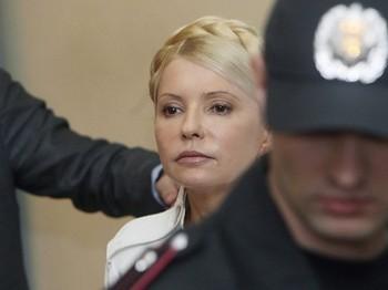 Ходатайство защиты Тимошенко об изменении ей меры пресечения суд отклонил. Фото: Lenta.ru