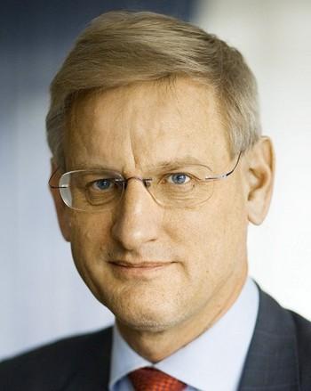 Карл Бильдт, министр иностранных дел Швеции. Фото: welt.de